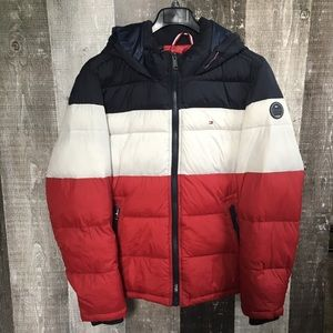 Tommy Hilfiger puffer hooded jacket